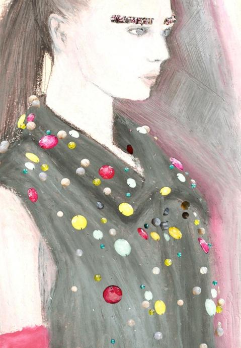 chanel aw 2012 by dunya zakharova