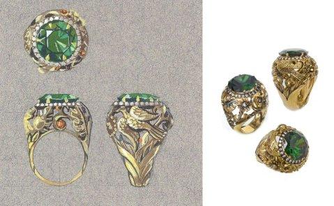 eva green camelot ring