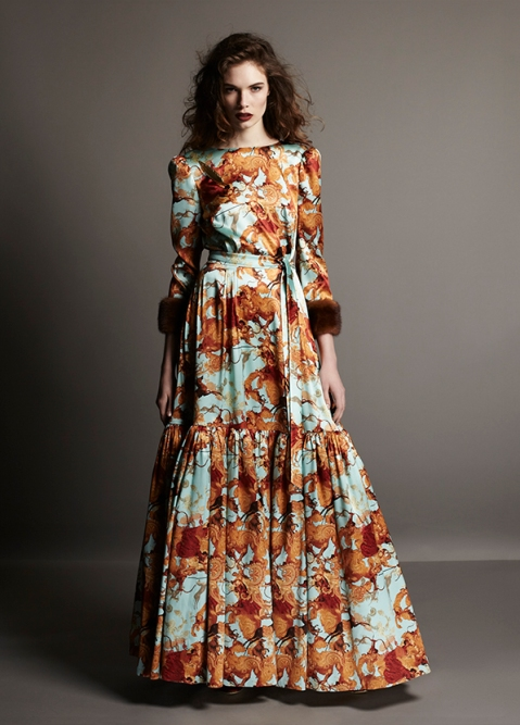 a la russe fashion