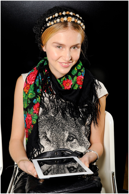 dolce and gabbana russian scarf