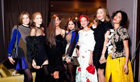 Buro24/7 Mirela-Forich-Elena-Perminova-Roushka-Bergman-Miroslava-Duma-Olga-Tompson-Uliana-Sergienko-Yasmin Sevell