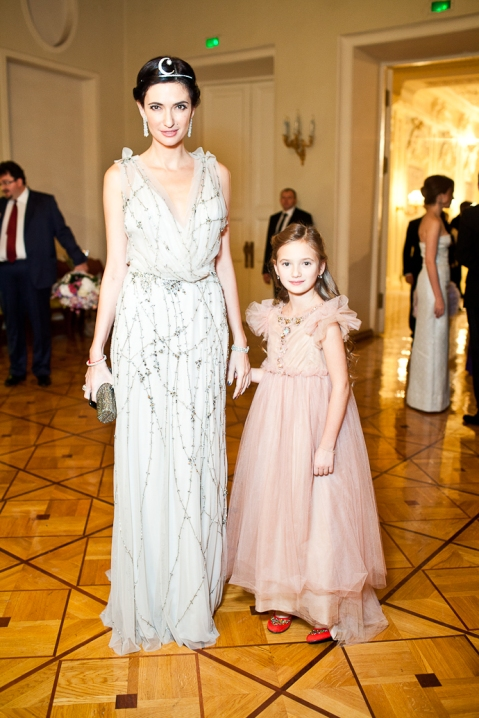 Snezhana Georgieva with her daughter