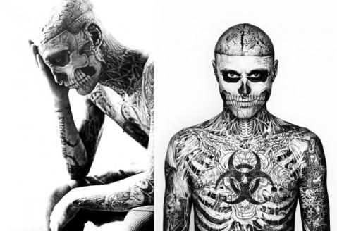 Zombie boy Rick Genest