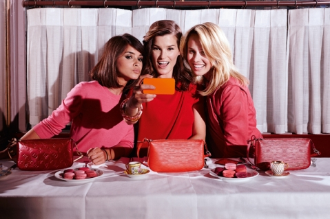Mira Duma, Hanneli Mustaparta and Elin Kling for Louis Vuitton