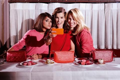 Mira Duma, Hanneli Mustaparta and Elin Kling for Louis Vuitton
