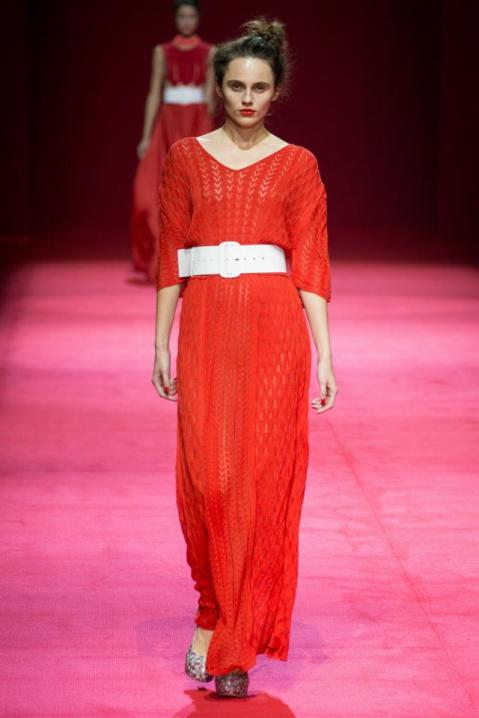 red dress akhmadullina summer 2013