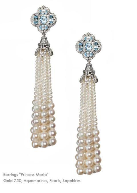 Piotr Axenoff earrings