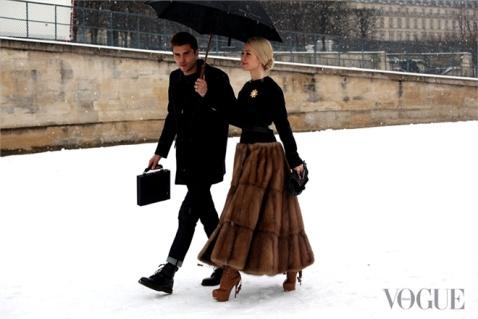 ulyana sergeenko paris fashion week 2013