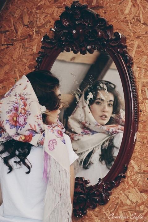 headscarf comtesse sofia summer shawl