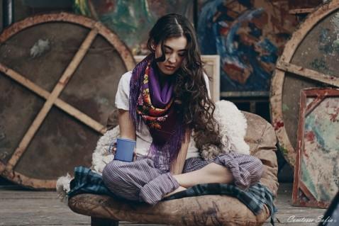 square scarf comtesse sofia