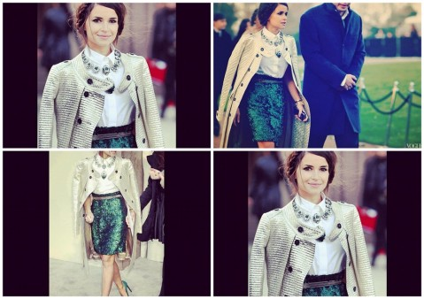 miroslava duma fashion week look